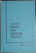 Agricultural price and income policy.