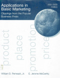 Applications in basic marketing: clippings from the popular business press