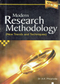 Modern research methodology (new trends and techniques)